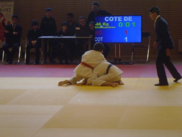 Judo-Club du Poiré-sur-Vie - Championnat de vendée du 17 Mars 2013 - Combat Charly