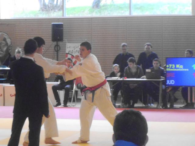 Judo-Club du Poiré-sur-Vie - Championnat de vendée du 17 Mars 2013 - Combat Donovan