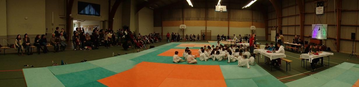 Photo panoramique Salle de St Denis La Cheuvasse 85 Vendée